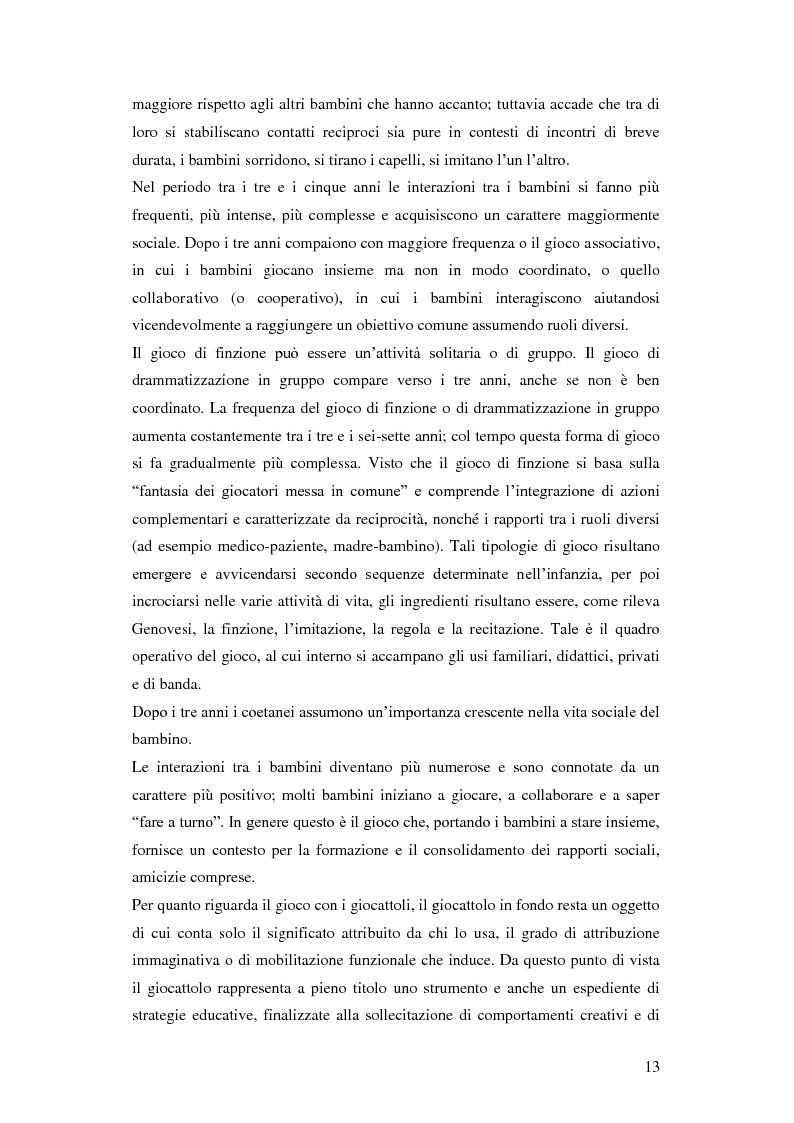 Anteprima della tesi: Forme e metodi del gioco didattico nella scuola primaria, Pagina 9