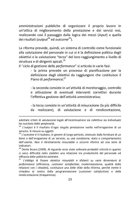 Anteprima della tesi: Governare è decidere e comunicare. Una sfida per il manager pubblico., Pagina 10