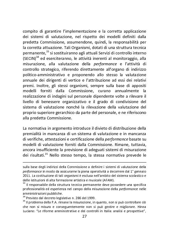 Anteprima della tesi: Governare è decidere e comunicare. Una sfida per il manager pubblico., Pagina 14