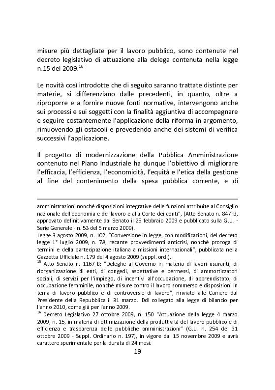 Anteprima della tesi: Governare è decidere e comunicare. Una sfida per il manager pubblico., Pagina 6
