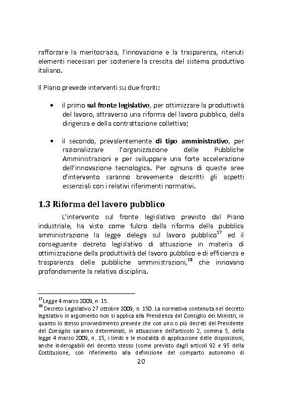 Anteprima della tesi: Governare è decidere e comunicare. Una sfida per il manager pubblico., Pagina 7
