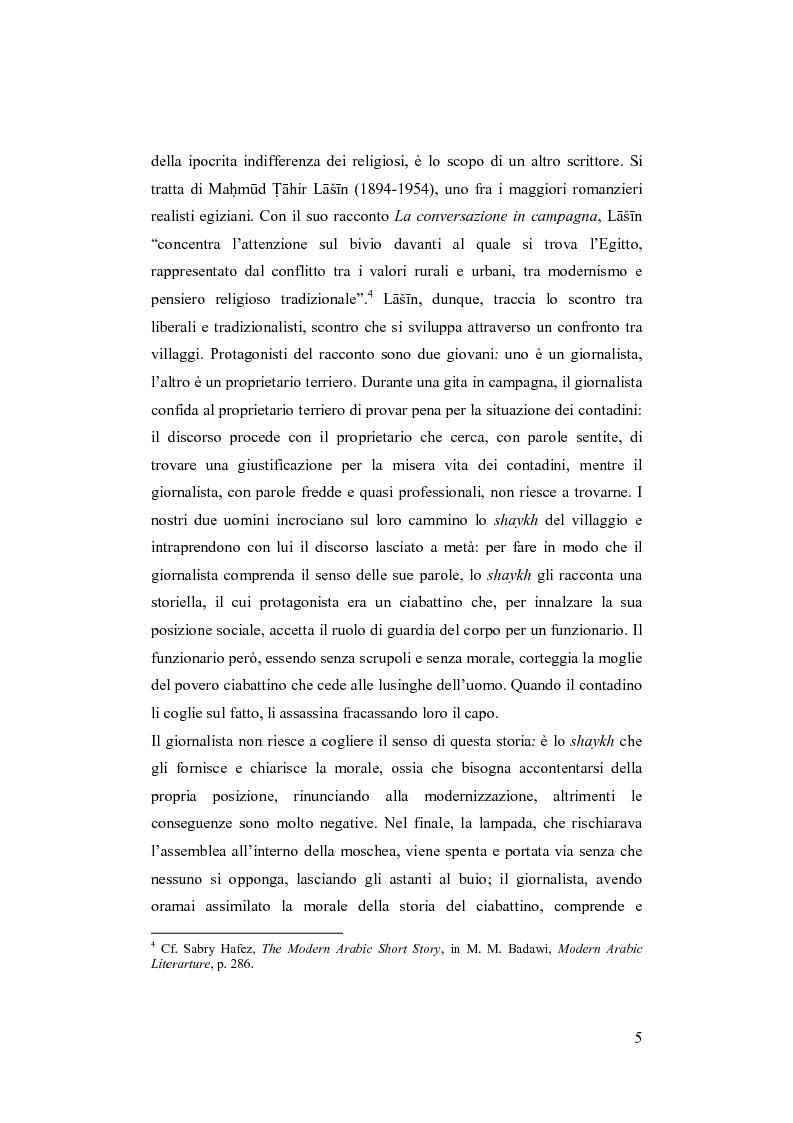 Anteprima della tesi: I Fratelli Musulmani nella letteratura araba del Novecento, Pagina 6