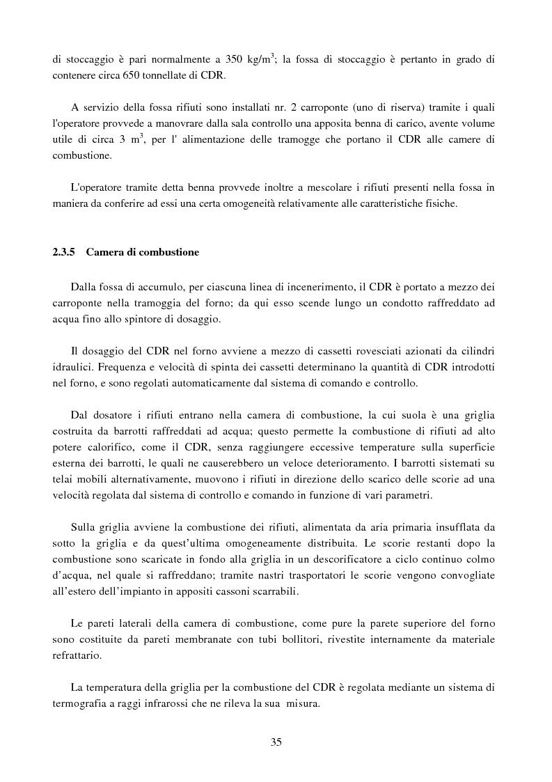 Estratto dalla tesi: Studio del recupero energetico del termovalorizzatore di Livorno in funzione della variabilità delle caratteristiche del combustibile da rifiuto introdotto