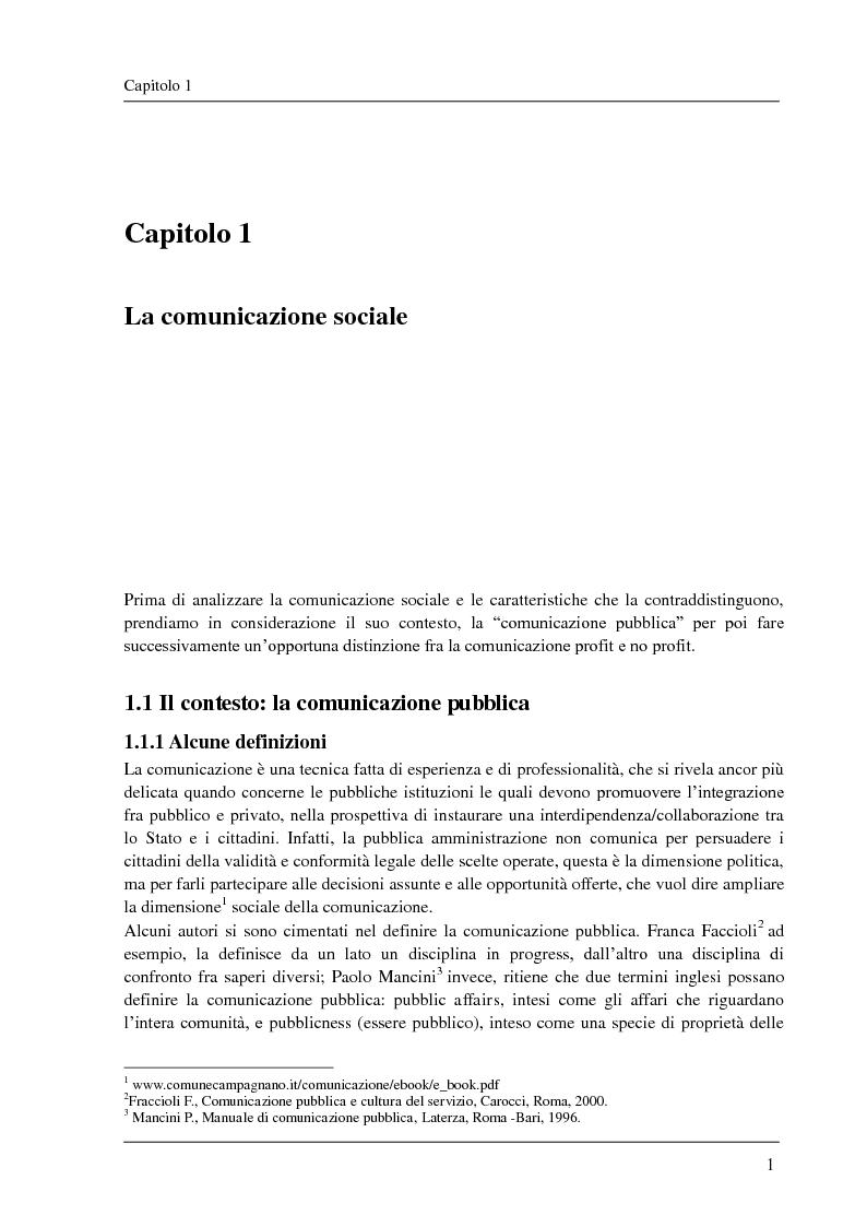 La rete come ambiente per il lavoro sociale - Tesi di Laurea