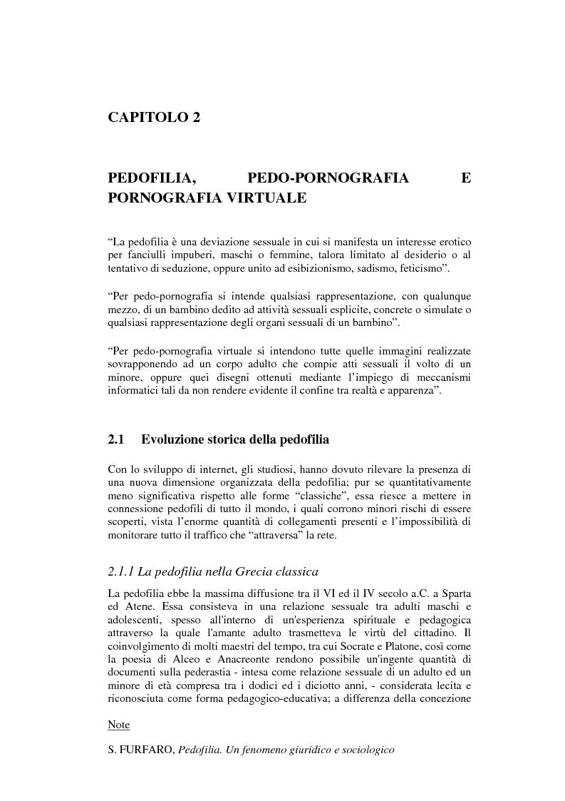 Tool e metodologie informatiche per il contrasto alla pedofilia online ed alla pedo-pornografia - Tesi di Laurea