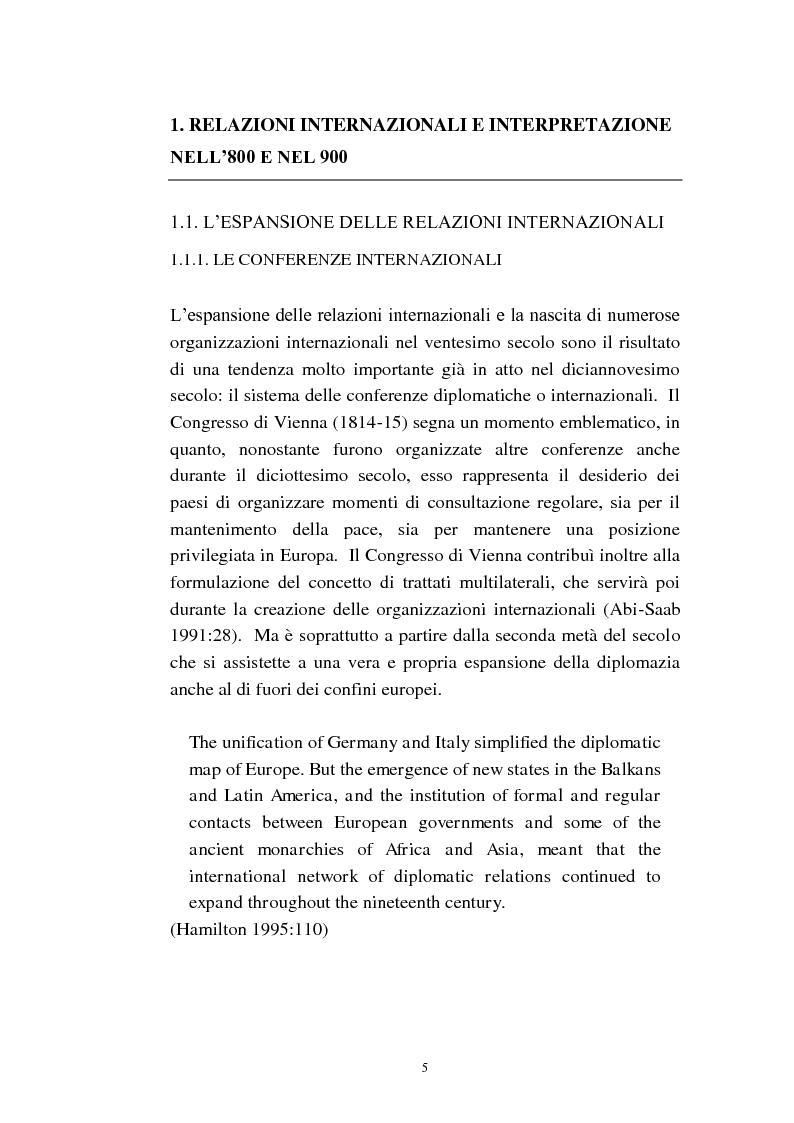 Anteprima della tesi: L'interpretazione di conferenza nelle organizzazioni internazionali, Pagina 7