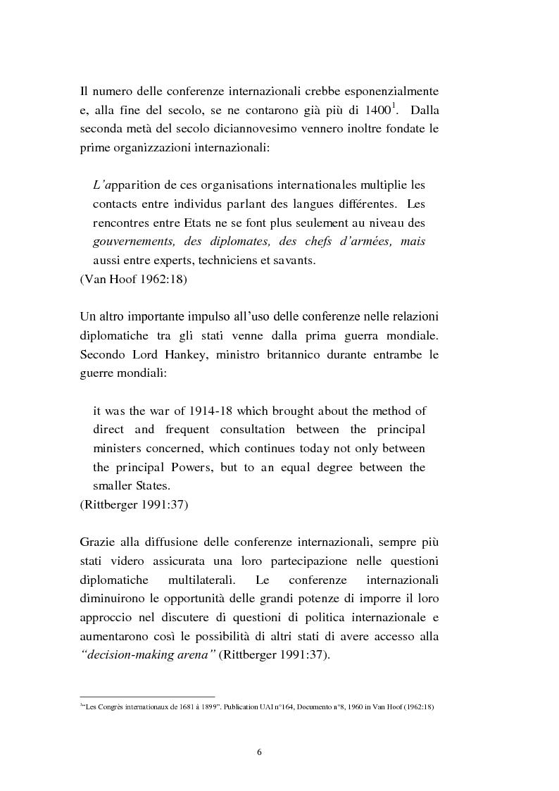 Anteprima della tesi: L'interpretazione di conferenza nelle organizzazioni internazionali, Pagina 8