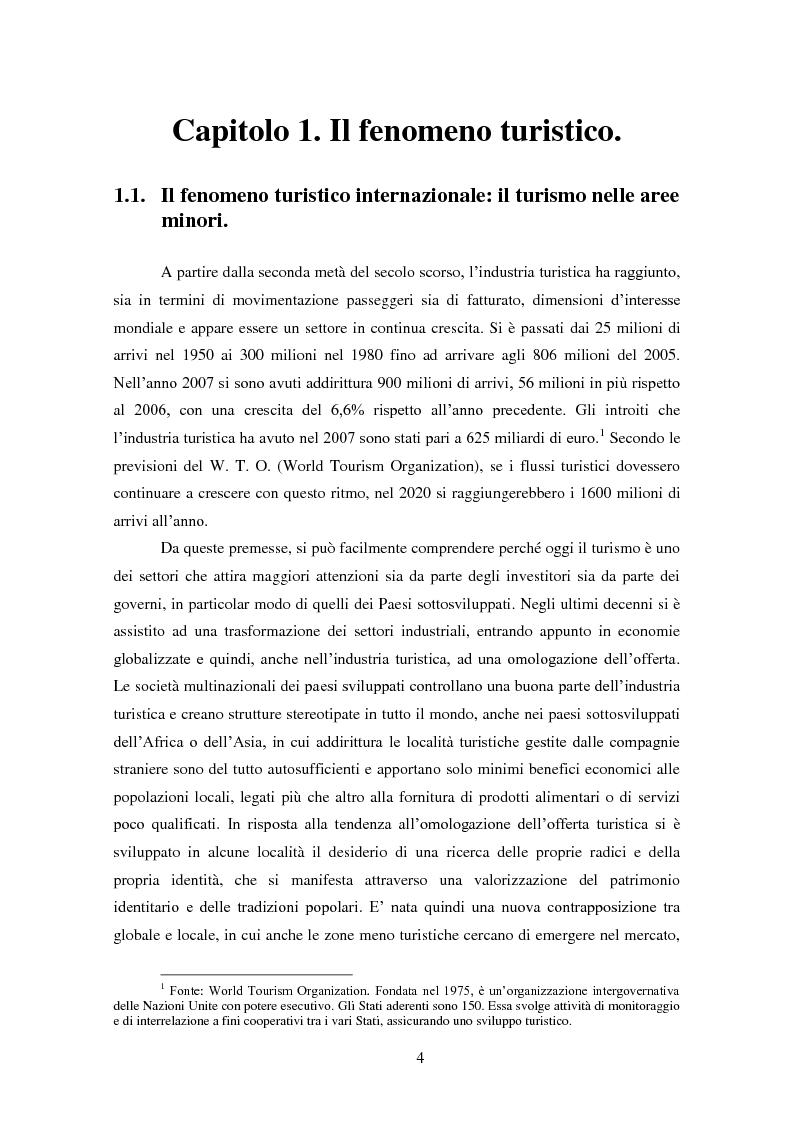 Anteprima della tesi: Analisi e ipotesi di sviluppo del sistema turistico del Guilcier, Pagina 4
