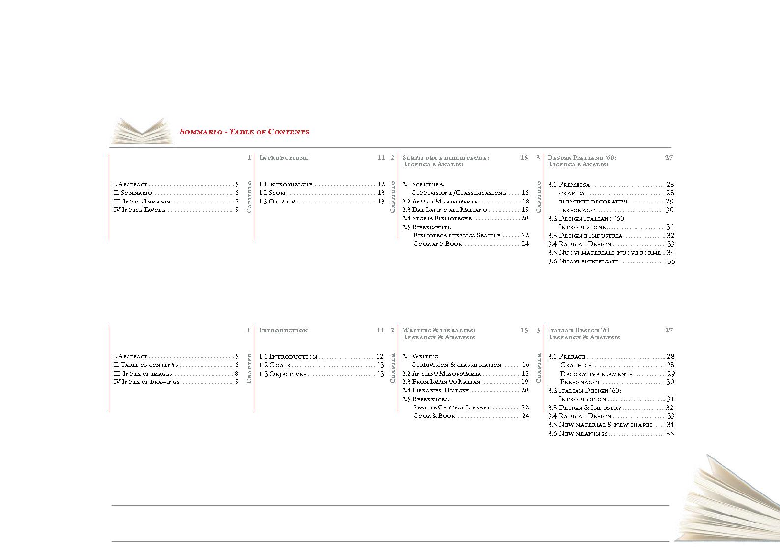 Indice della tesi: Progetto per la Nuova Biblioteca Comunale di Montevarchi (AR), Pagina 1