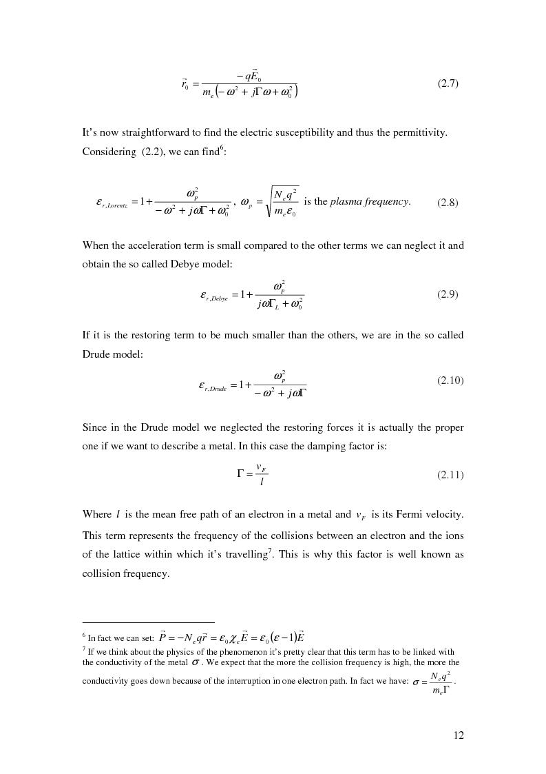 Anteprima della tesi: Optical characterisation of metamaterials, Pagina 9