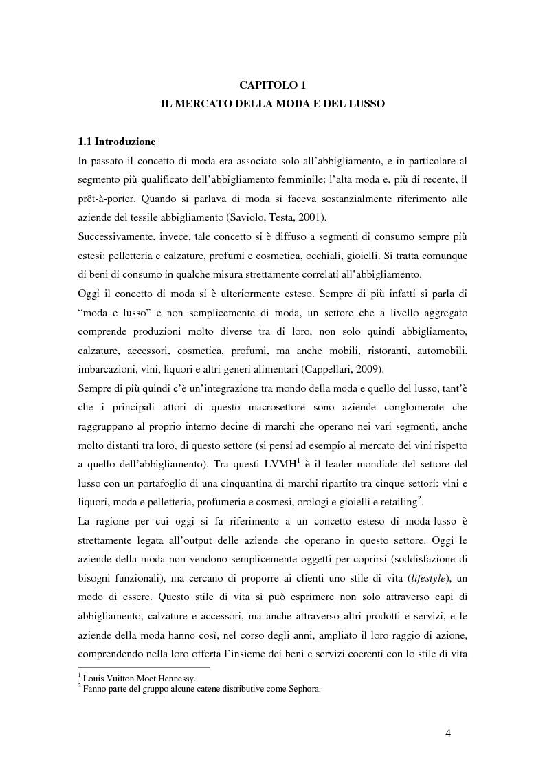 Anteprima della tesi: Il ciclo di vita del retail nella moda. Il caso Yoox., Pagina 5
