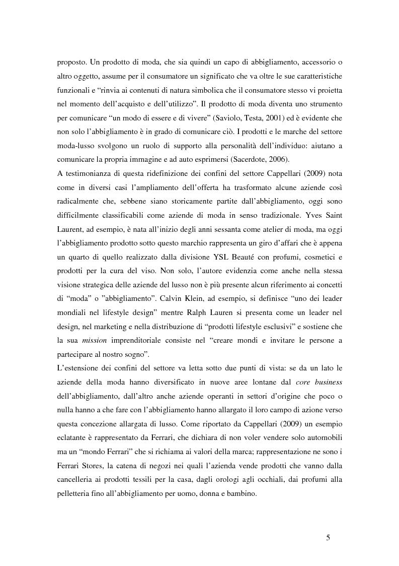 Anteprima della tesi: Il ciclo di vita del retail nella moda. Il caso Yoox., Pagina 6