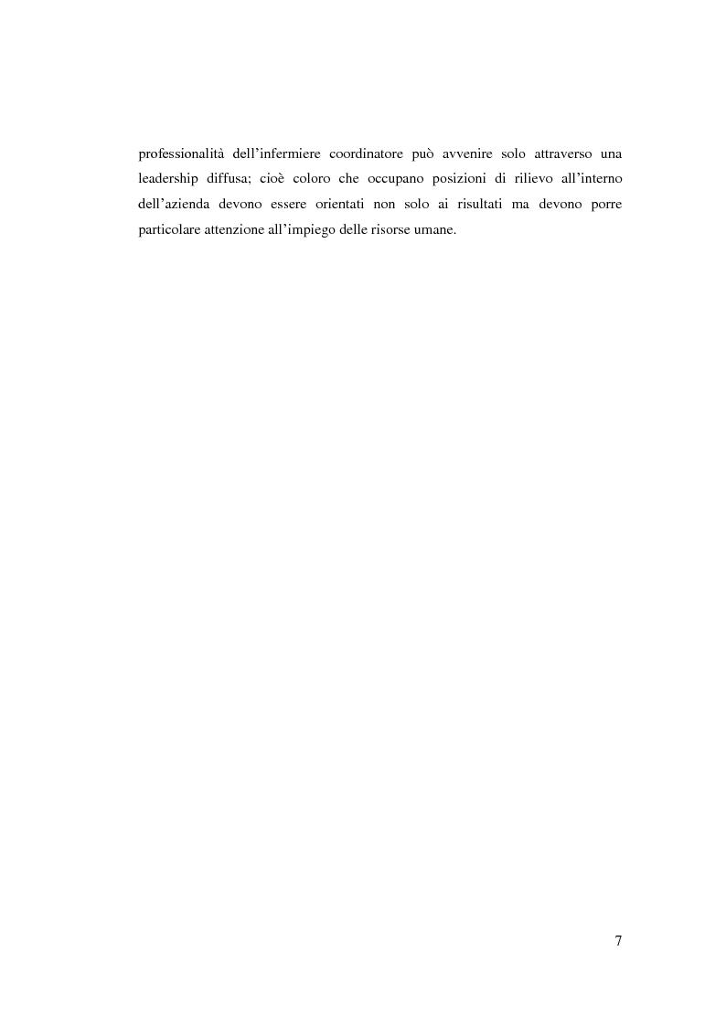 Anteprima della tesi: L'infermiere di sala operatoria: evoluzione dei modelli organizzativi. 1a parte, Pagina 4