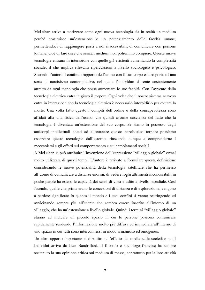 Anteprima della tesi: La vita on-line. Identità, socializzazione e psicopatologia di Internet, Pagina 4