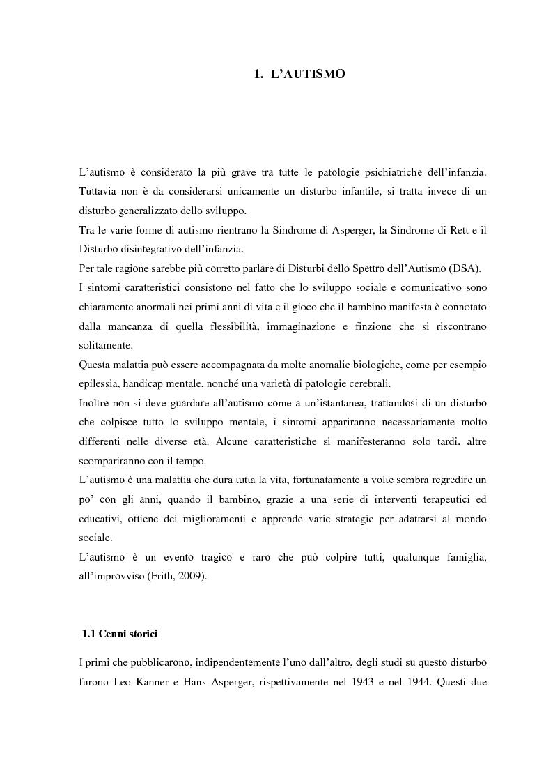 Autismo e neuroni specchio tesi di laurea - Neuroni specchio e autismo ...