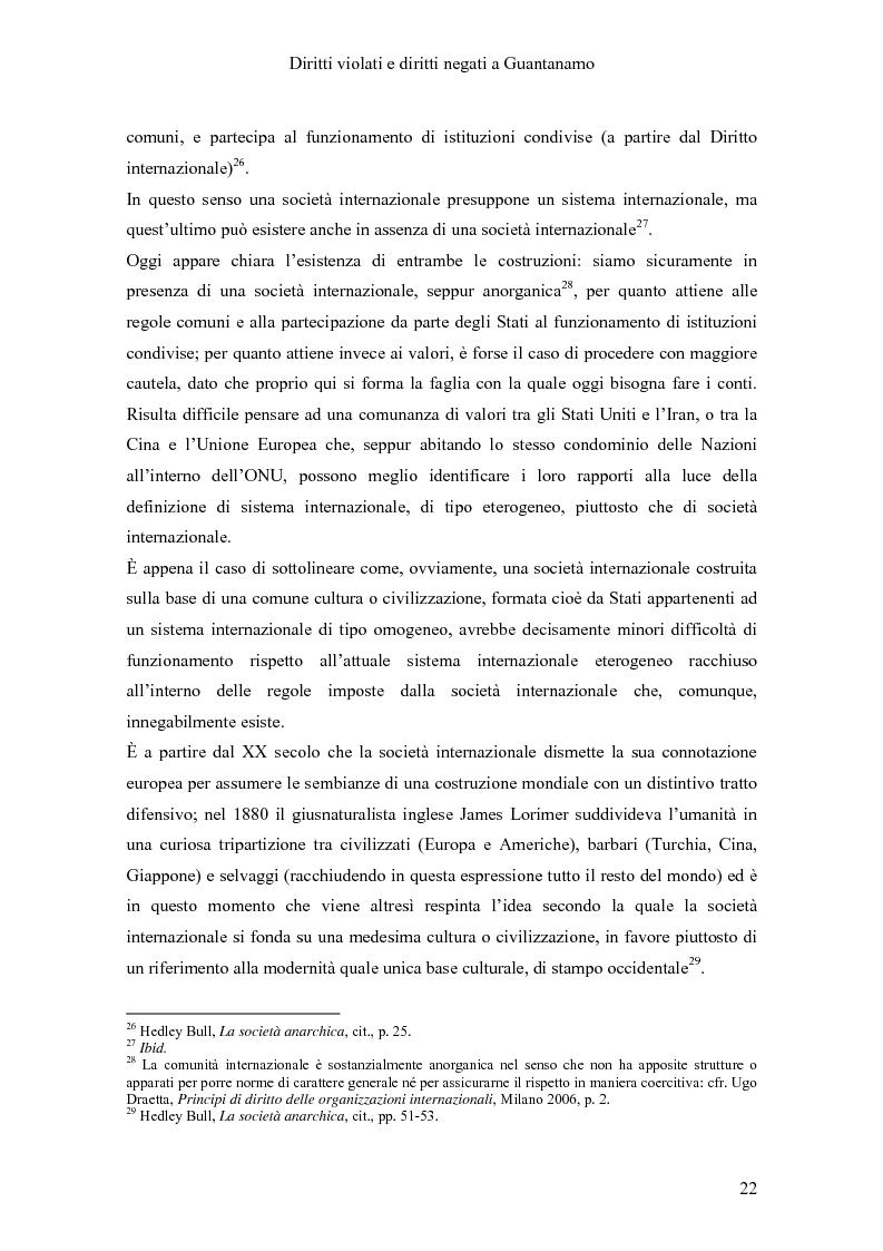 Anteprima della tesi: Diritti violati e diritti negati a Guantanamo, Pagina 11