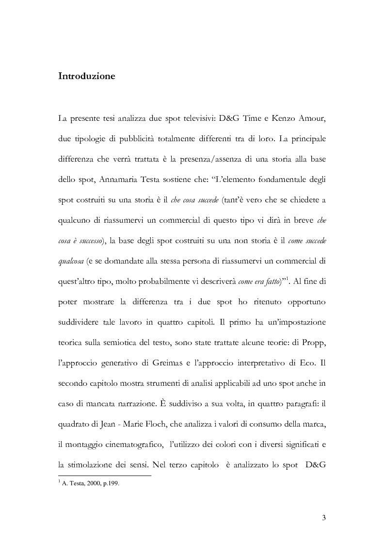 Anteprima della tesi: Storia versus Meccanismo: D&G Time e Kenzo Amour, Pagina 2