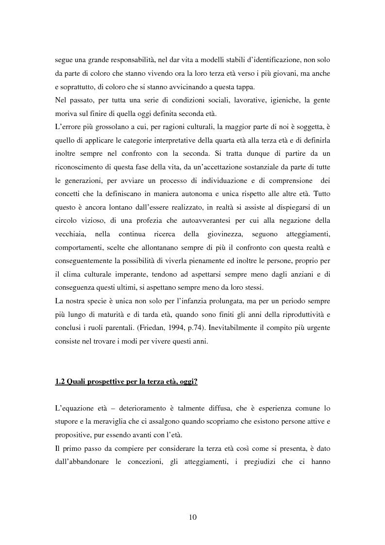 Anteprima della tesi: Internet e gli anziani: come la Rete rappresenta gli anziani e come gli anziani utilizzano la Rete, Pagina 8