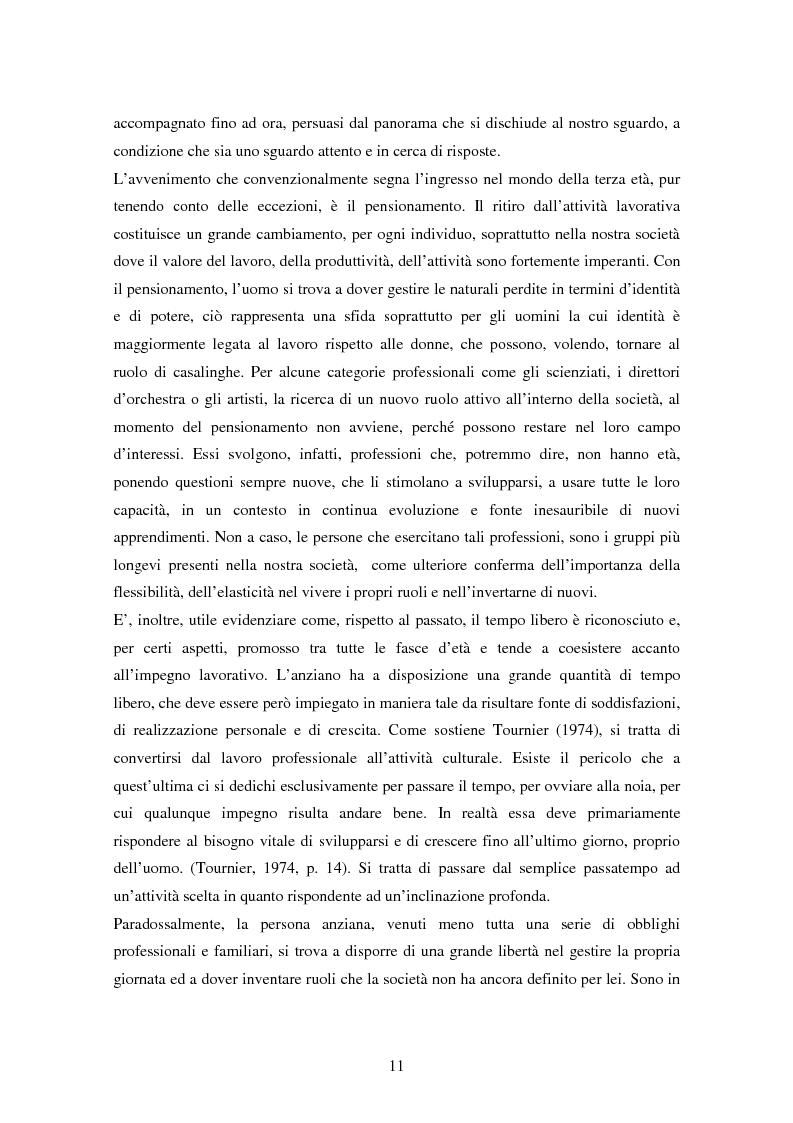 Anteprima della tesi: Internet e gli anziani: come la Rete rappresenta gli anziani e come gli anziani utilizzano la Rete, Pagina 9