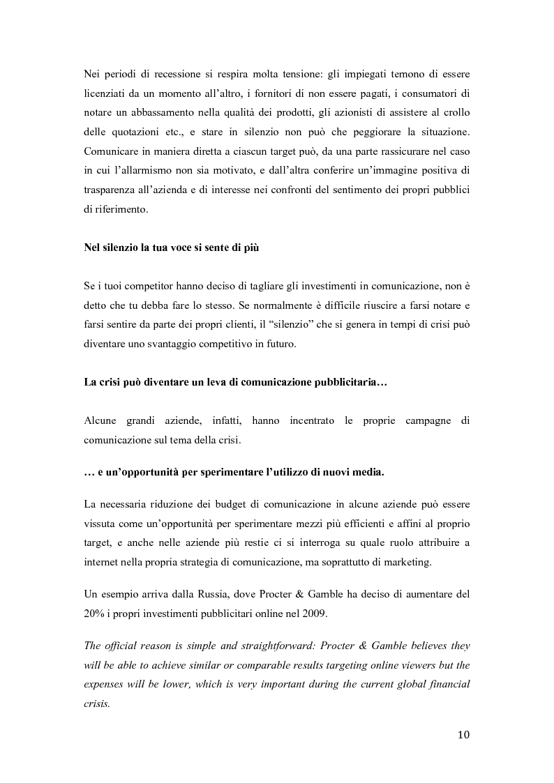 Anteprima della tesi  Dal recession al recovery marketing  uno scenario  internazionale 94aa6e03fd67