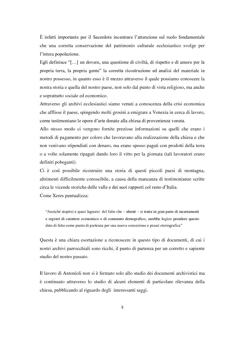 Anteprima della tesi: La chiesa parrocchiale di San Giuseppe a Grosio, Pagina 6