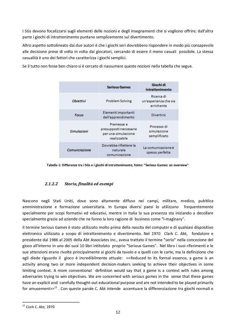 Estratto dalla tesi: Il gioco come strumento di comunicazione d'impresa