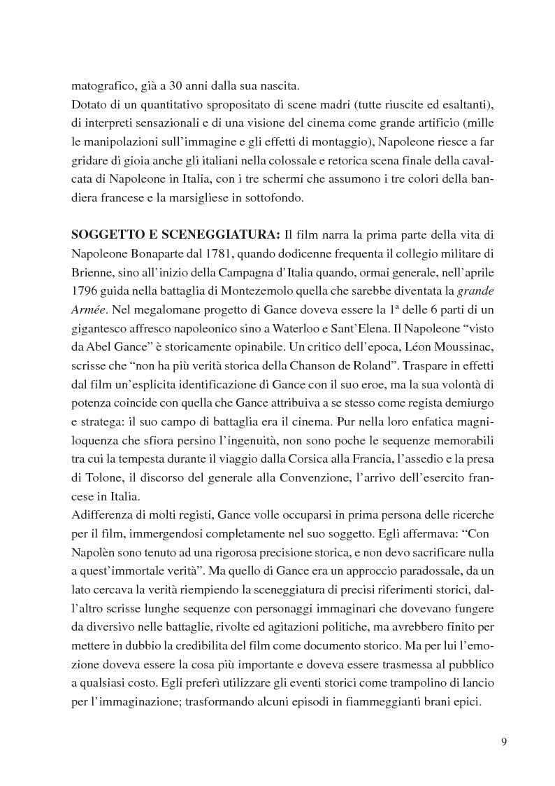 Estratto dalla tesi: L'evoluzione delle scene di battaglia nella storia del cinema dall'analogico al digitale