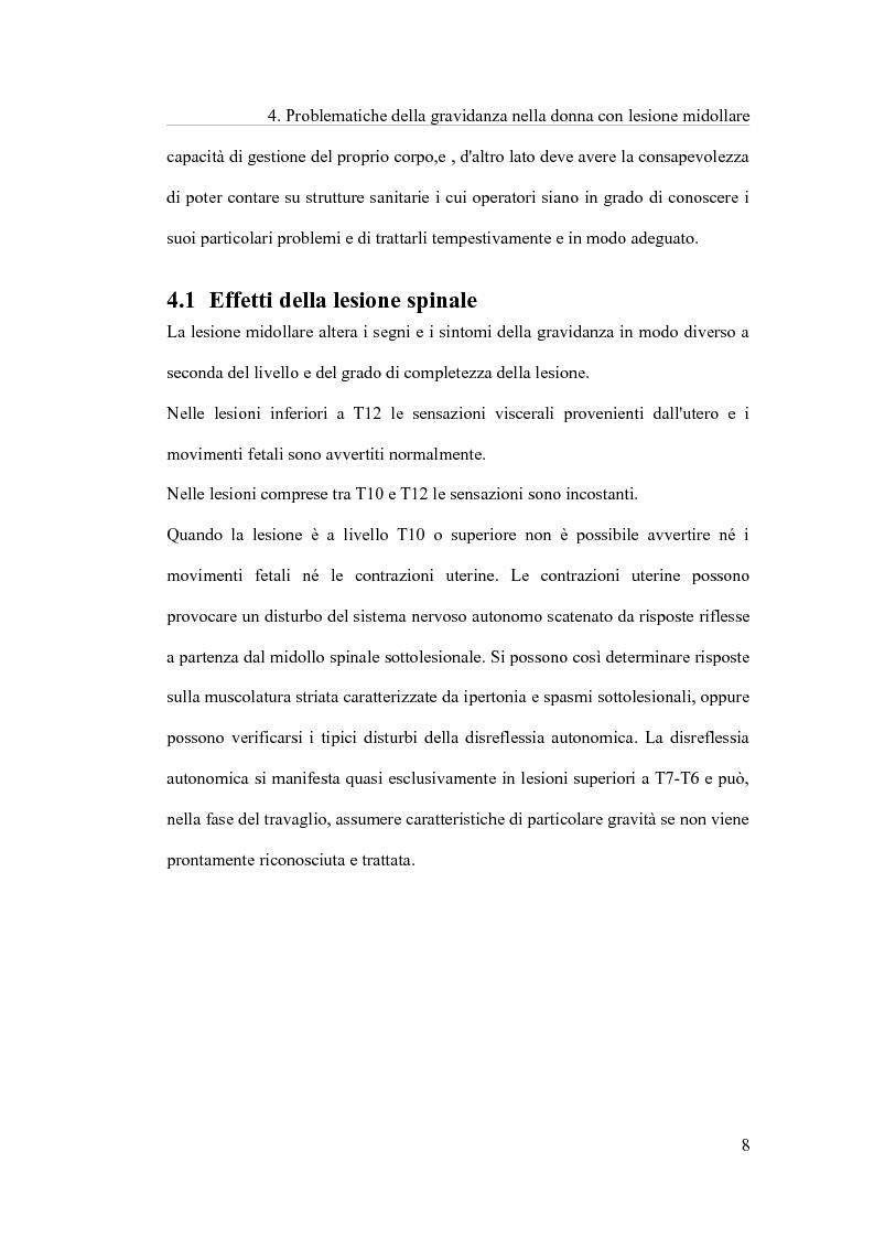 Anteprima della tesi: Terapia occupazionale nella donna mielolesa prima, durante e dopo la gravidanza., Pagina 7