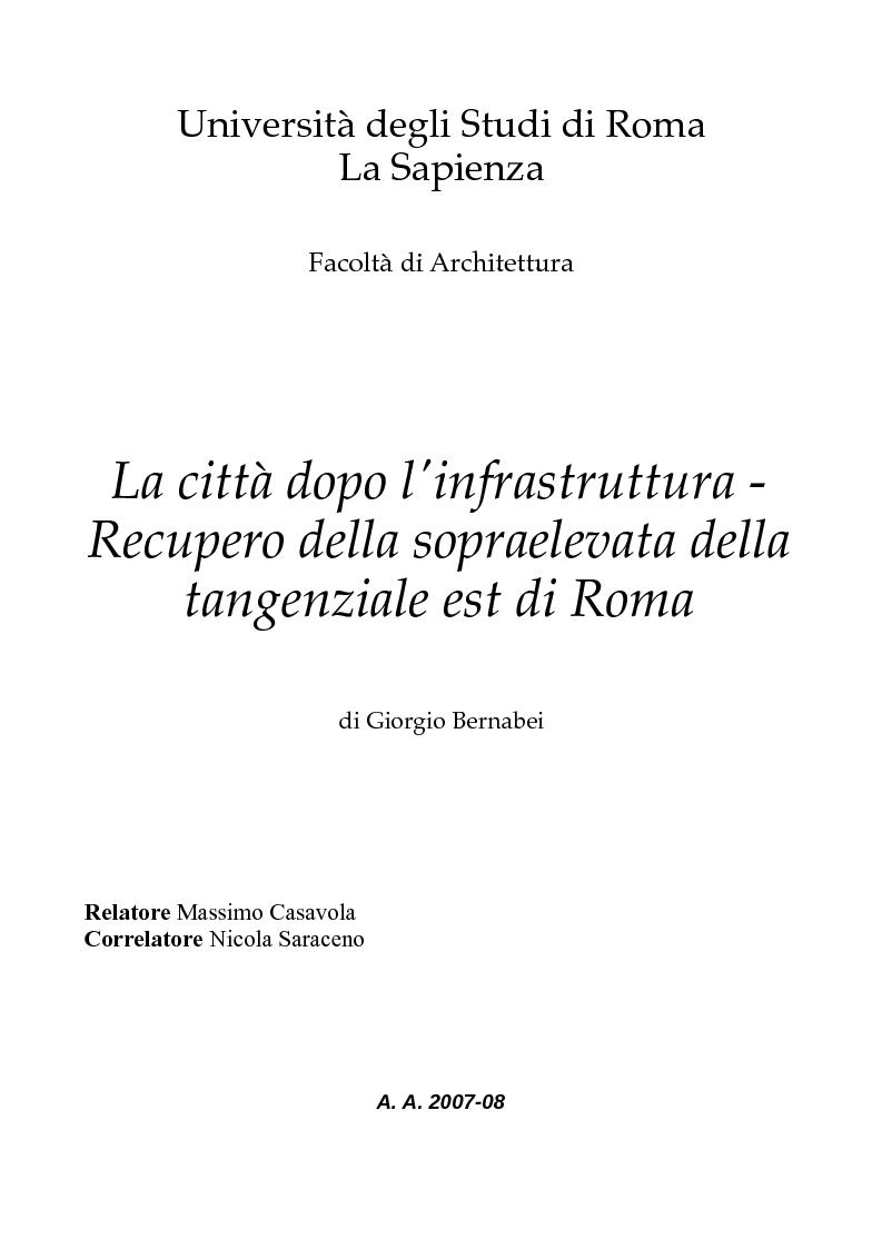 Universit degli studi di roma la sapienza facolt di for Studi di architettura roma