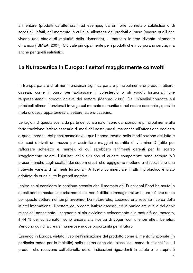 Anteprima della tesi: New Product Development in the food industry - Lo sviluppo di nuovi prodotti nel settore alimentare, Pagina 3