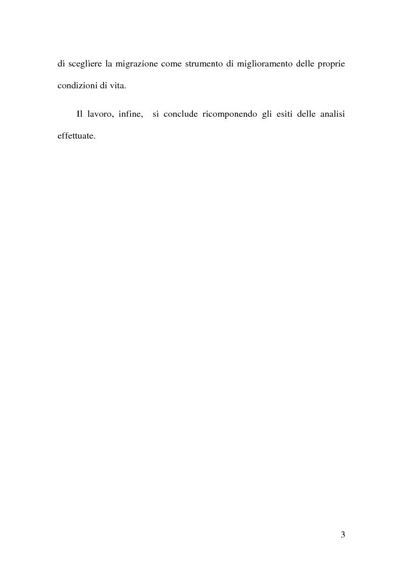 Anteprima della tesi: Vincoli finanziari e vincoli di sviluppo alle migrazioni internazionali. Un approfondimento della migration hump, Pagina 4