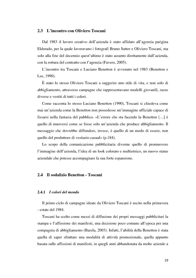 caso benetton Oliviero toscani, que fue director creativo de benetton en el periodo comprendido entre los años 1982 y 2000, transformó no sólo la firma italiana de moda, sino.