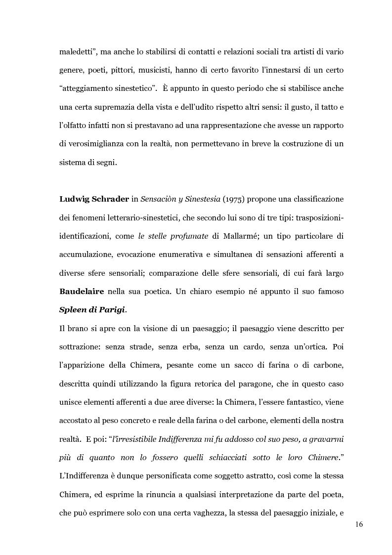 Anteprima della tesi: Il colore dei suoni. Un incantesimo percettivo. , Pagina 14