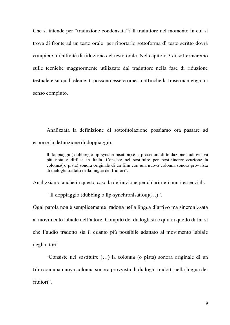 """Anteprima della tesi: Traduzione e sottotitolazione di un episodio della serie televisiva """"Aquì no hay quien viva: Erase una de miedo'', Pagina 7"""