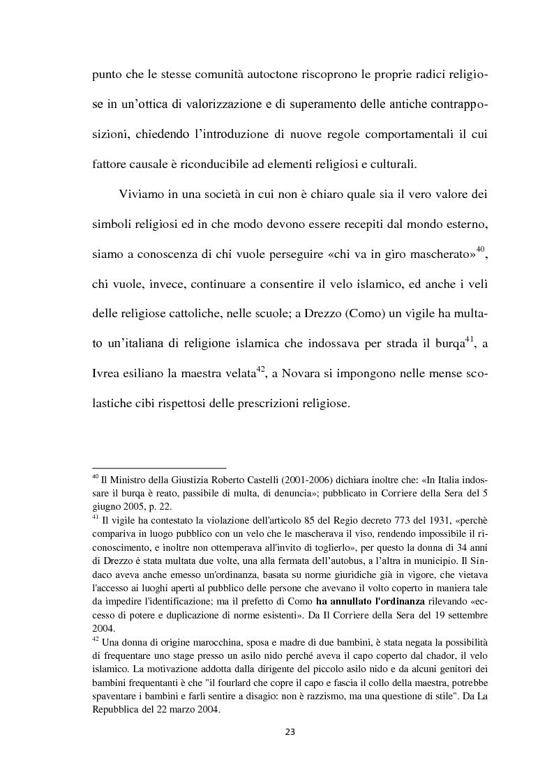 Estratto dalla tesi: I Simboli Religiosi nella Giurisprudenza Italiana