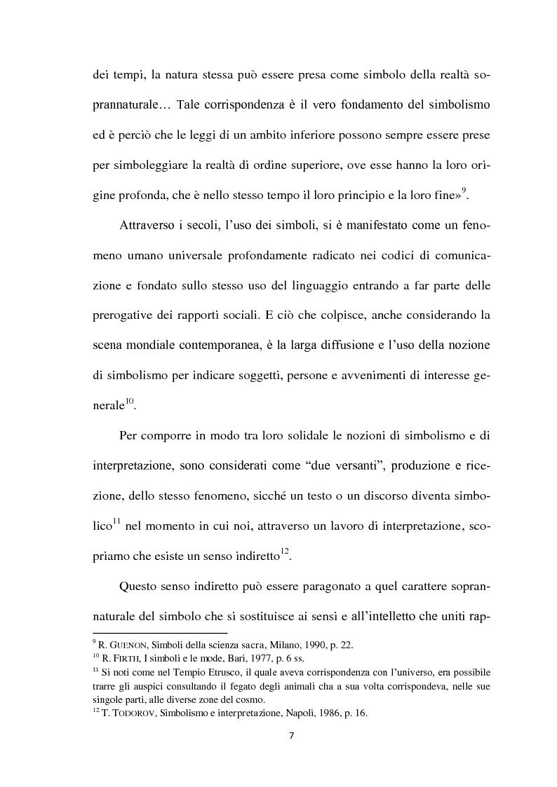 Anteprima della tesi: I Simboli Religiosi nella Giurisprudenza Italiana, Pagina 6