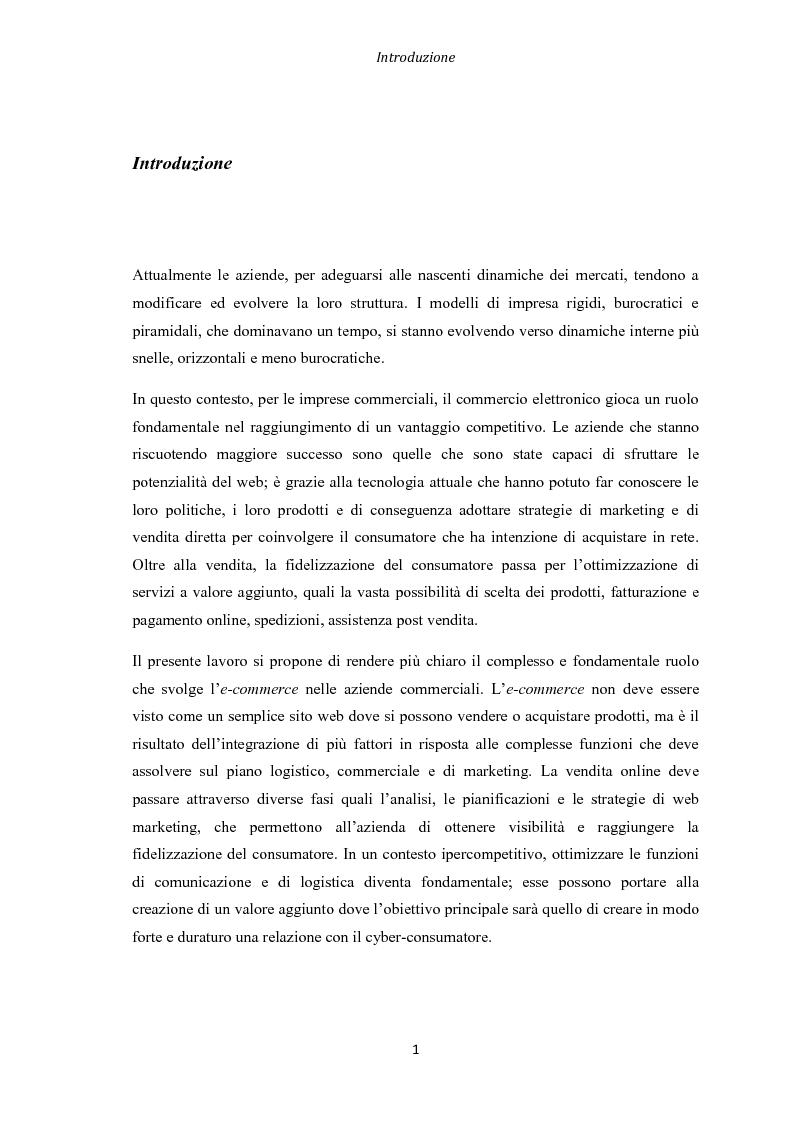 Analisi di un progetto e commerce valutazione e for Analisi grammaticale di diversi