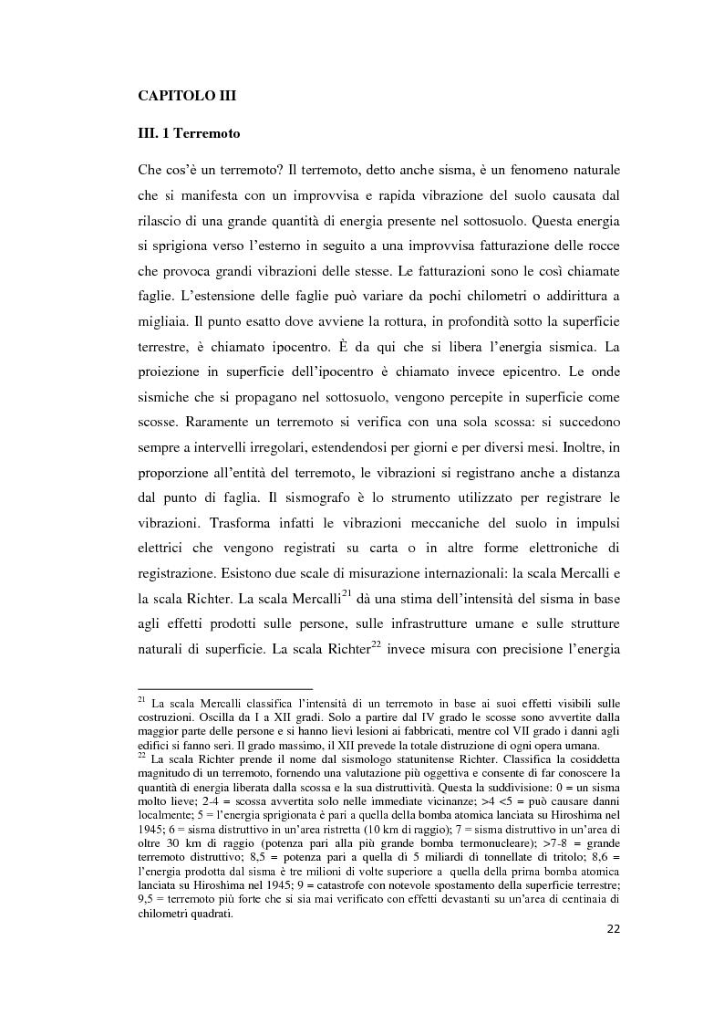 Estratto dalla tesi: L'Aquila post sisma. Vita e ricostruzione nella C.A.S.E Progetto
