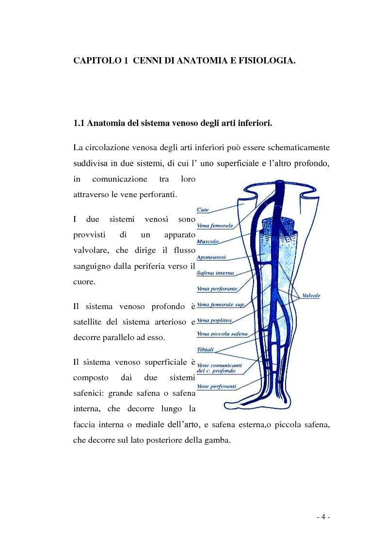 Anteprima della tesi: Gestione infermieristica delle lesioni vascolari: le medicazioni avanzate, Pagina 3