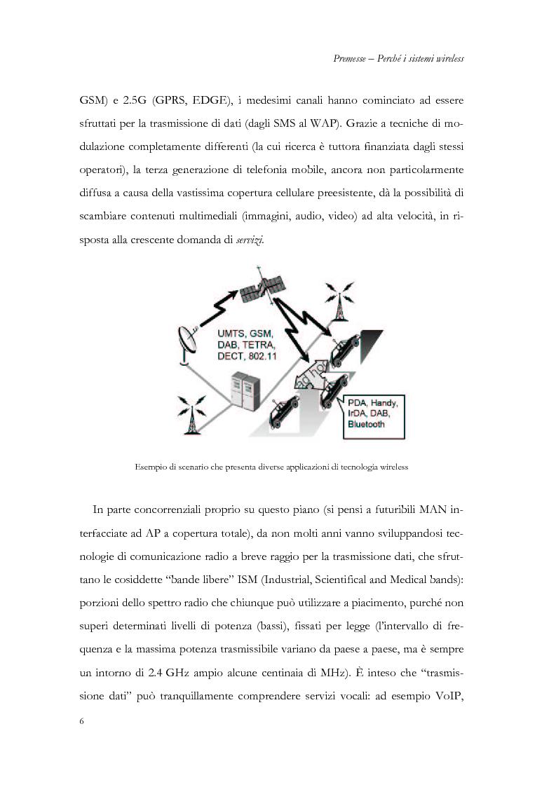 Anteprima della tesi: Allocazione delle risorse in rete radiomobile di area locale, Pagina 3
