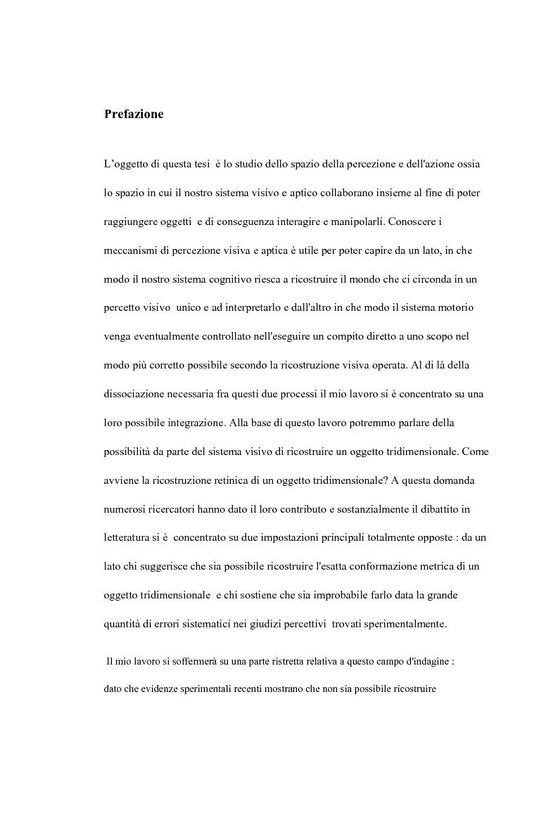 Rappresentazione visiva per la pianificazione e il controllo dell'azione - Tesi di Laurea