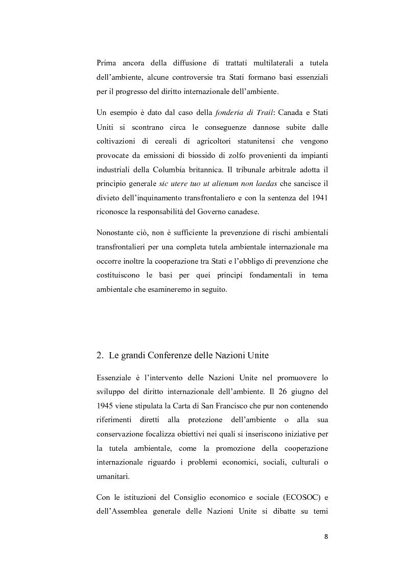 Anteprima della tesi: Ecosystem approach: una nuova strategia per la salvaguardia della biodiversità, Pagina 5