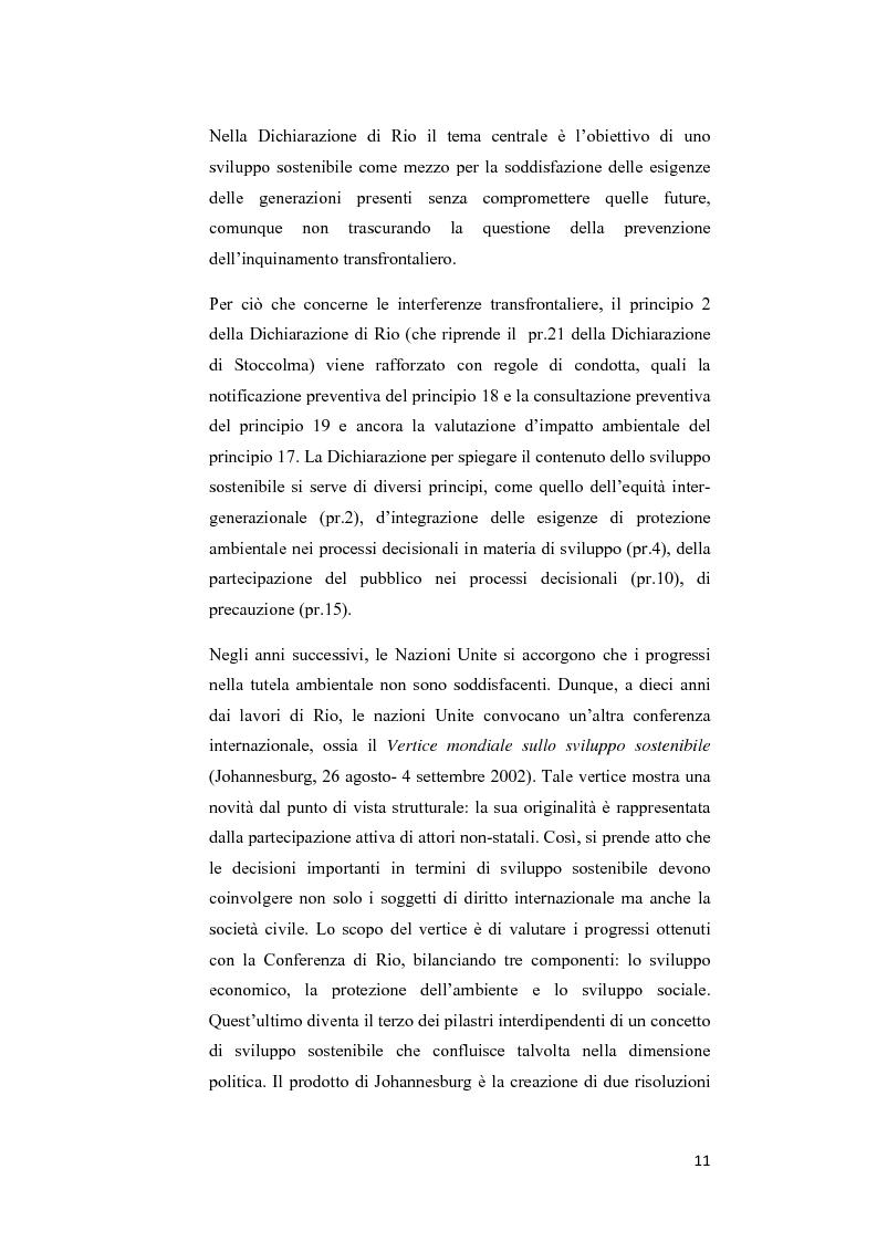 Anteprima della tesi: Ecosystem approach: una nuova strategia per la salvaguardia della biodiversità, Pagina 8