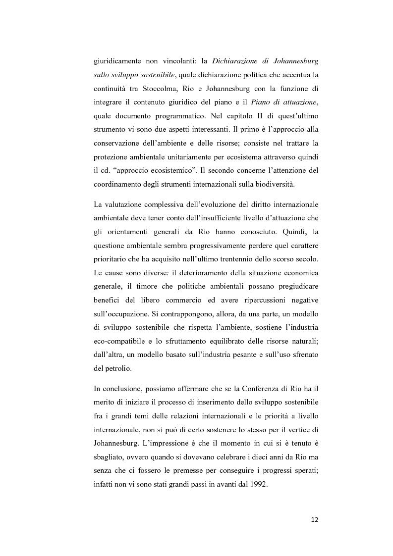 Anteprima della tesi: Ecosystem approach: una nuova strategia per la salvaguardia della biodiversità, Pagina 9