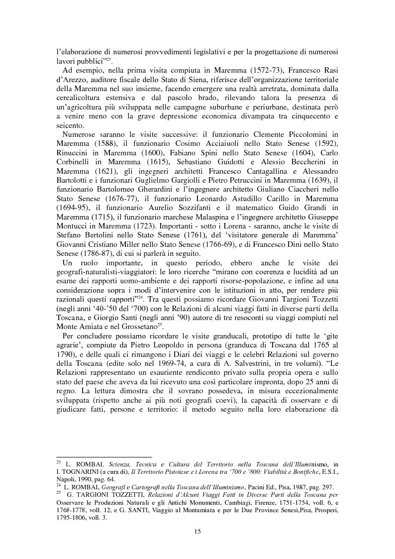 Anteprima della tesi: L'Amiata tra '600 e '800 - Una vicenda geostorica, Pagina 10