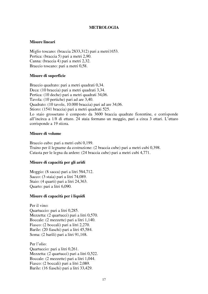 Anteprima della tesi: L'Amiata tra '600 e '800 - Una vicenda geostorica, Pagina 12