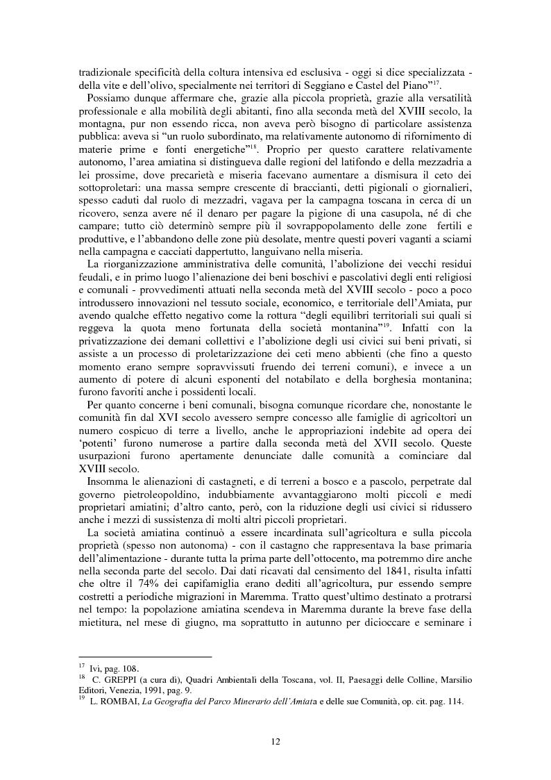 Anteprima della tesi: L'Amiata tra '600 e '800 - Una vicenda geostorica, Pagina 7
