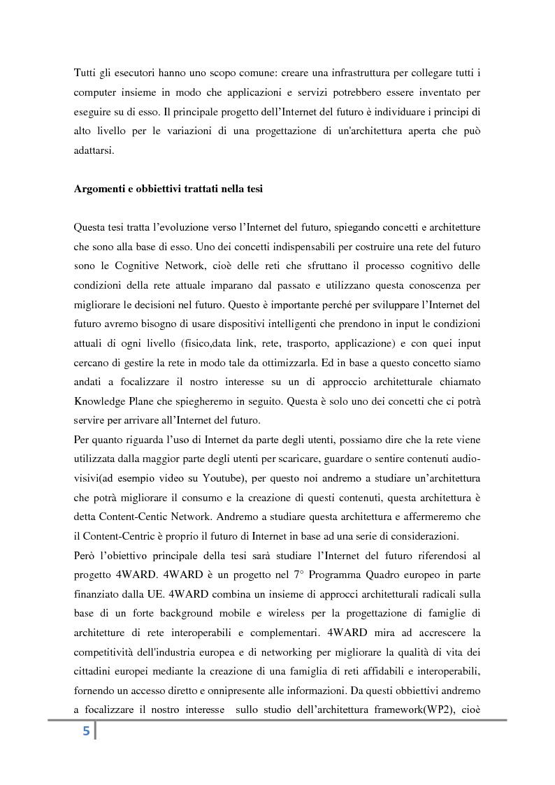Anteprima della tesi: Evoluzione verso l'Internet del futuro, Pagina 3