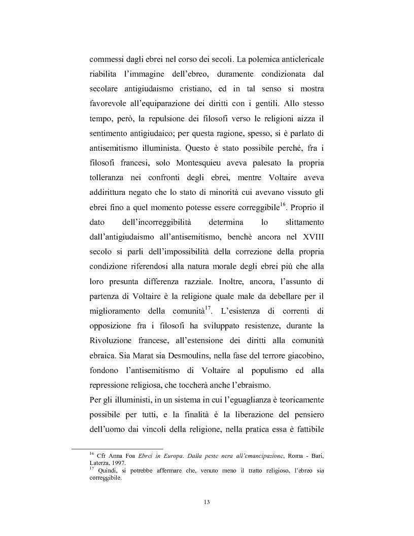 Anteprima della tesi: Ebraismi dell'Europa centrale: emancipazione politica e simbiosi intellettuale, Pagina 12