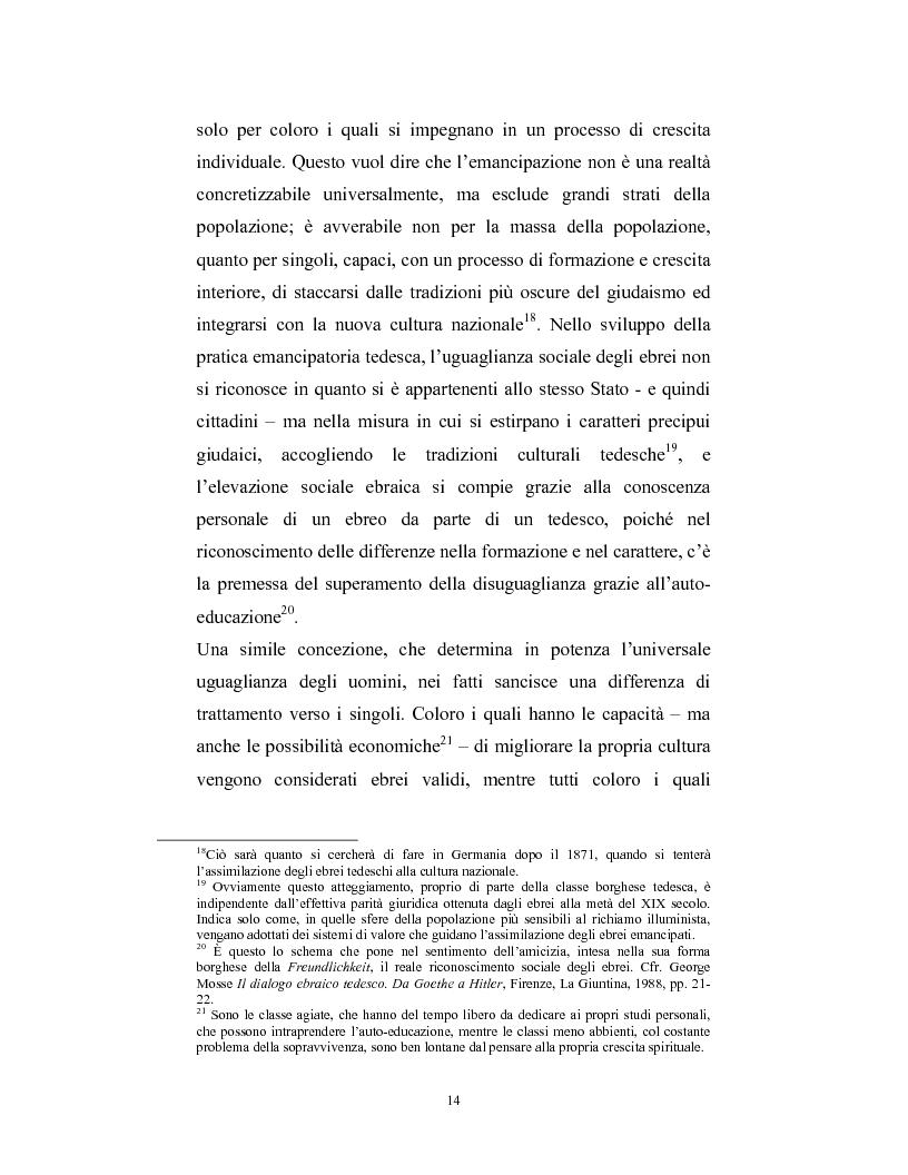 Anteprima della tesi: Ebraismi dell'Europa centrale: emancipazione politica e simbiosi intellettuale, Pagina 13